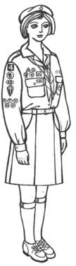 Однострій пластунки-юначки